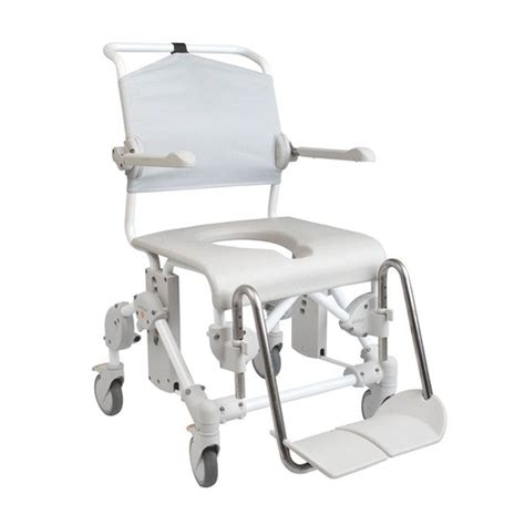 etac mobile 160 shower chair with holder