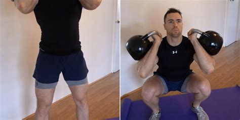 squat kettlebell squats variations