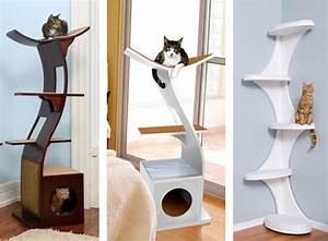 Modern Cat Tree Tower Home Decor & Furniture