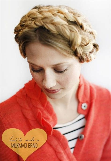 29 best images about milkmaid braid hairstyles on