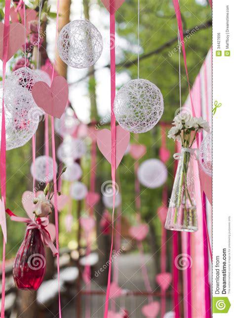 Wedding Arch Stock Photo Image Of Purple Beautiful