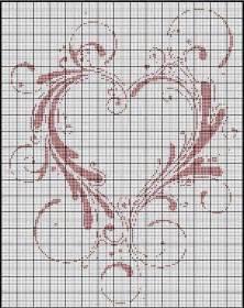 point de croix mariage point de croix grilles gratuites a imprimer mariage