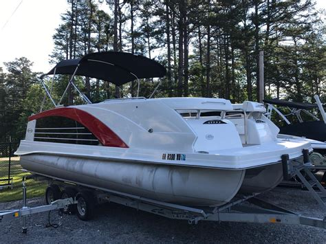 Boat Sales Used by Used Pontoon Boats For Sale In Boats