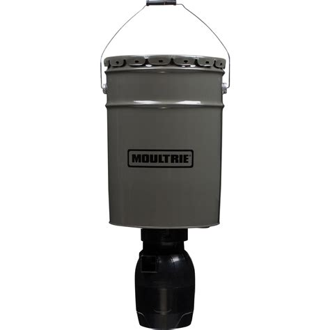 Moultrie Hanging Feeder by Moultrie Directional Hanging Deer Feeder 6 5 Gal Mfg