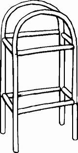 Shelves Furniture Coloring Pages sketch template