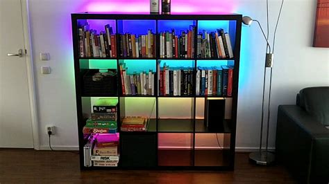 Bookcase Led Lighting by Shiftpwm Controlling Rgb Led Strips In My Book Shelves