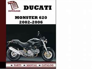 Ducati Monster 620 Parts Manual  Catalogue  2002 2003 2004