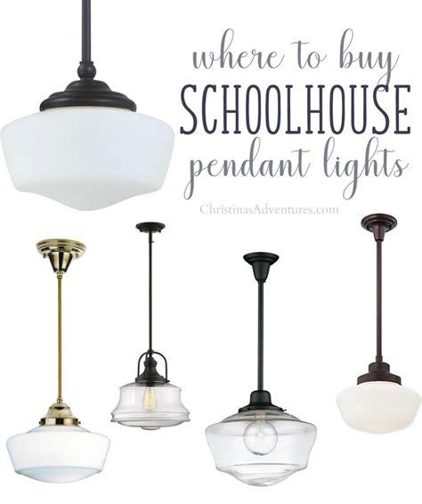 buy schoolhouse pendant lights christinas
