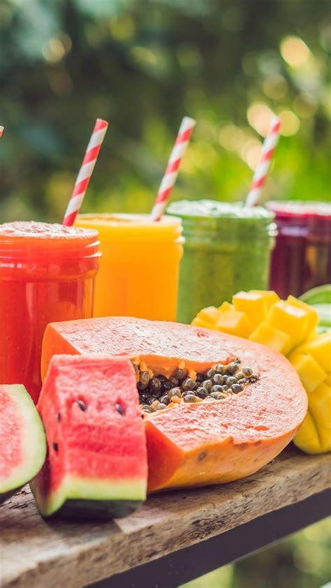 wallpaper summer drinks smoothies watermelon mango