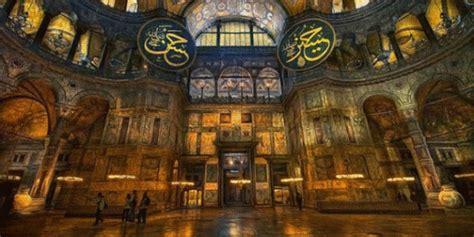 Santa Sofia Istanbul Interno Santa Sofia Tra Il Cristianesimo E L Islam Festival