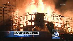 Suspect arrested in massive DTLA apartment complex fire ...