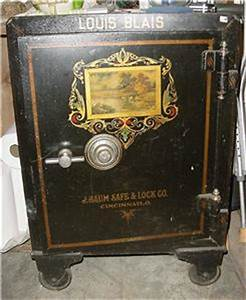 The Last Of Us Safe Kombination : antique louis blaise cast iron safe 1908 j baum safe lock co cincinnati ohio ebay ~ Buech-reservation.com Haus und Dekorationen