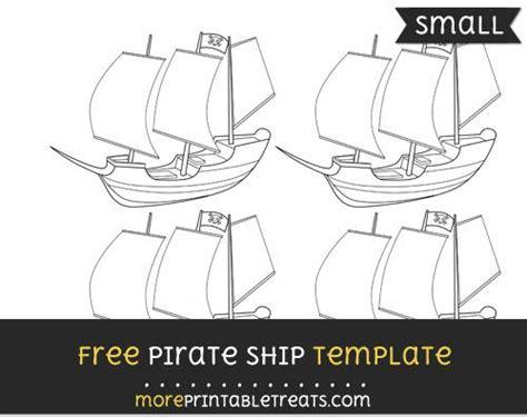 pirate ship template small pirates templates