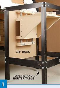 Router Table With Lift Designer Tables Reference