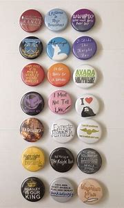 harry #potter memorable quotes pinback buttons set of 21 ...