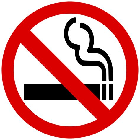 File:No smoking symbol.svg   Wikimedia Commons