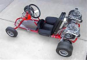 Vintage McCulloch Go Kart