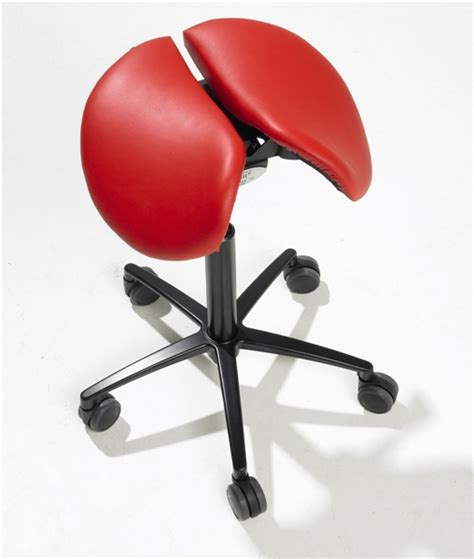 Salli Saddle Chair India by Salli Saddle Stool Divided Seat