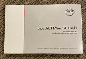 2020 Nissan Altima Sedan Owners Manual