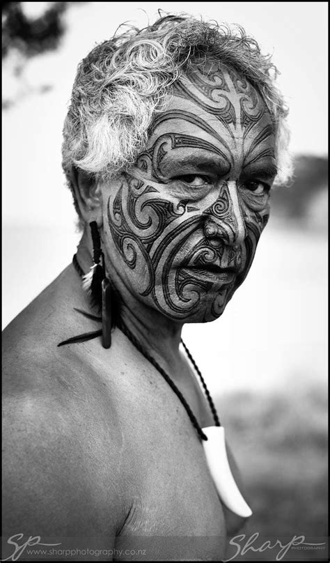 Maori Face from New Zealand. Join me on twitter at @NZStanton … | Maori tattoos | Triba…