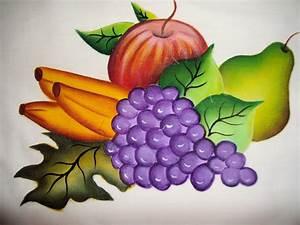 ARTE EN TELA: Frutas en un mantel