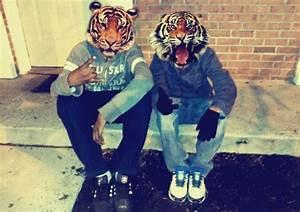 tiger head on Tumblr