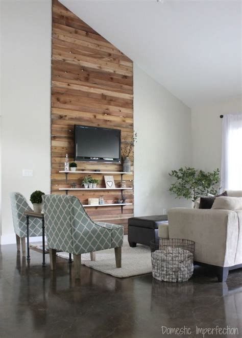 Formal Living Room Accent Wall by Eric And Kelsey S Budget Living Room Makeover Accent