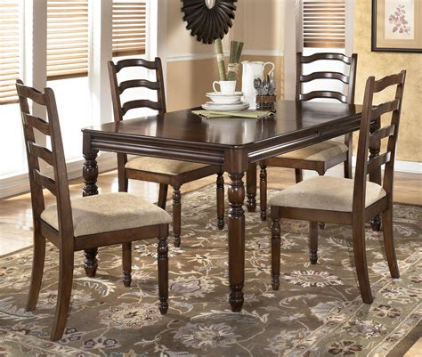 Rectangular Dining Room Counter Table Set By Ashley