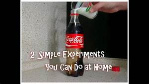 2 Simple Experiments You Can Do At Home