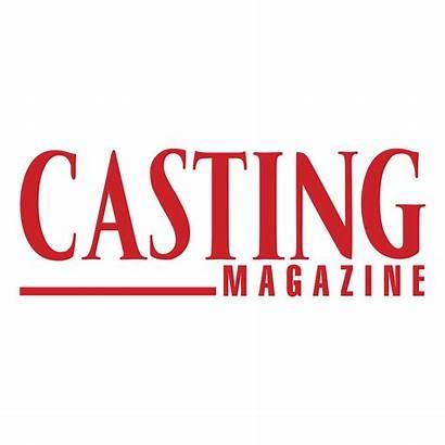 Magazine Casting Transparent Logos