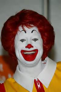 Ronald McDonald Scary Clowns