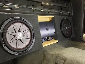 2005 Chevy Silverado Crew Cab Subwoofer Upgrade