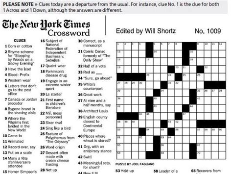 What's The Deal With The Crossword Puzzle?