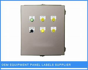 oem equipment panel labels control panel label supplier ahme With control panel labels