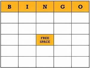 free blank bingo card template word With bingo sheet template