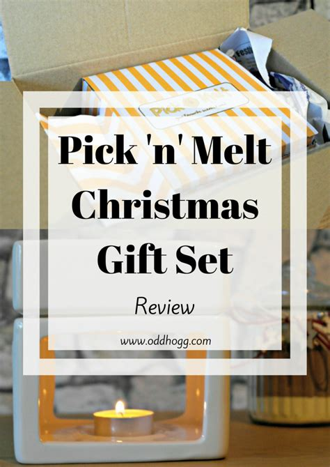 Pick N Melt Christmas Gift Set  Review Oddhogg