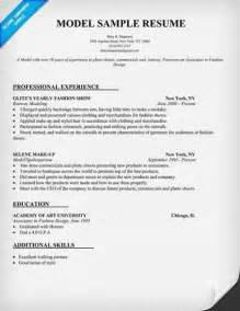 Federal Resume Template Word Following Is A Sle Model Resume Format