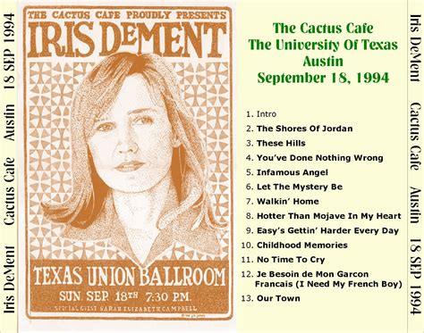 iris dement cactus cafe