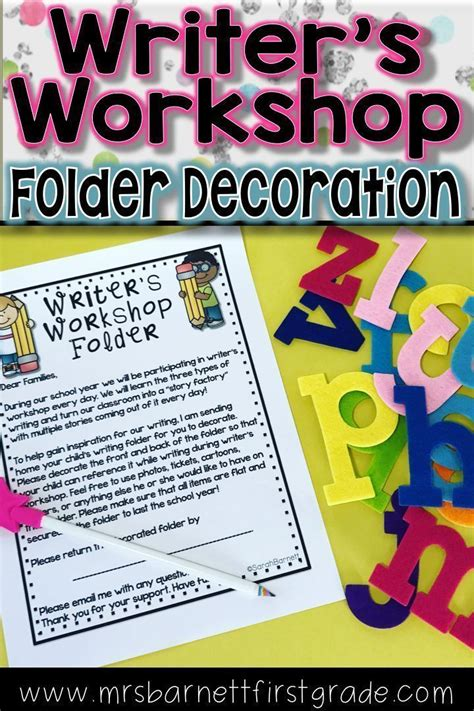 writers workshop folders ideas  pinterest