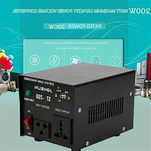 200w Watt Step Up  Down Voltage Converter Transformer Adapter