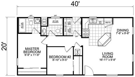 Home Design 800 Square Feet : 800 Square Foot House Plans 3 Bedroom Best Of 26 X 40 Cape