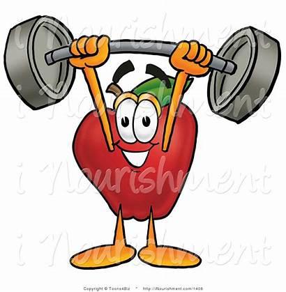 Clipart Clip Stronger Strong Nourishment Clipartpanda Apple
