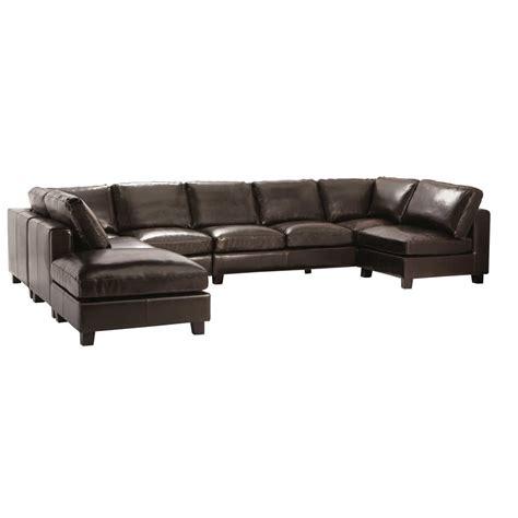 canapé cuir 7 places chambre style anglais moderne