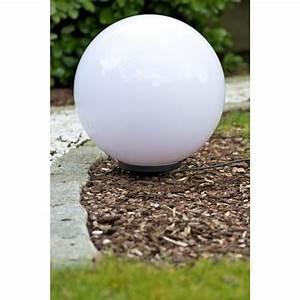 Boule Led Exterieur : boule lumineuse eclairage jardin exterieur 50 cm achat vente boule miau 50 cm cdiscount ~ Teatrodelosmanantiales.com Idées de Décoration