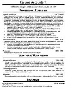 resume titles for accountants accountant resume exle sle