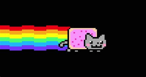 nyan cat ultra hd  stock footage video  royalty   shutterstock