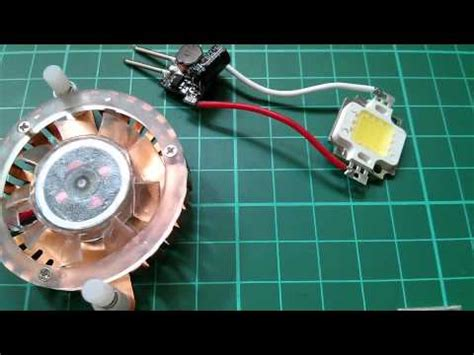 12v 10w led led tutorial light a 10w led from 12v simple cheap