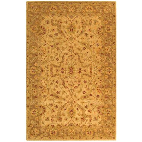 safavieh antiquities safavieh antiquity ivory brown 6 ft x 9 ft area rug