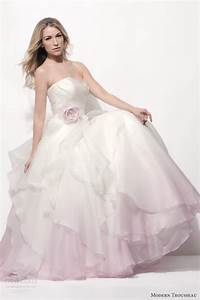 modern trousseau spring 2014 wedding dresses wedding With pink ombre wedding dress