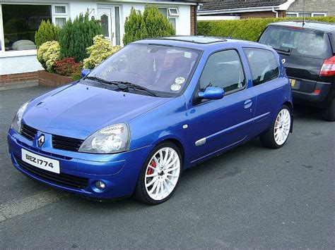 renault clio 2 tuning view of renault clio ii 1 2 photos features and tuning of vehicles bestautophoto